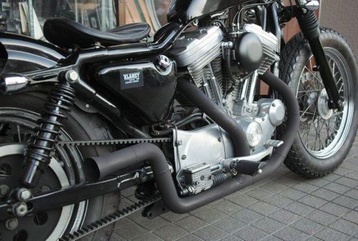XL883H マフラー製作